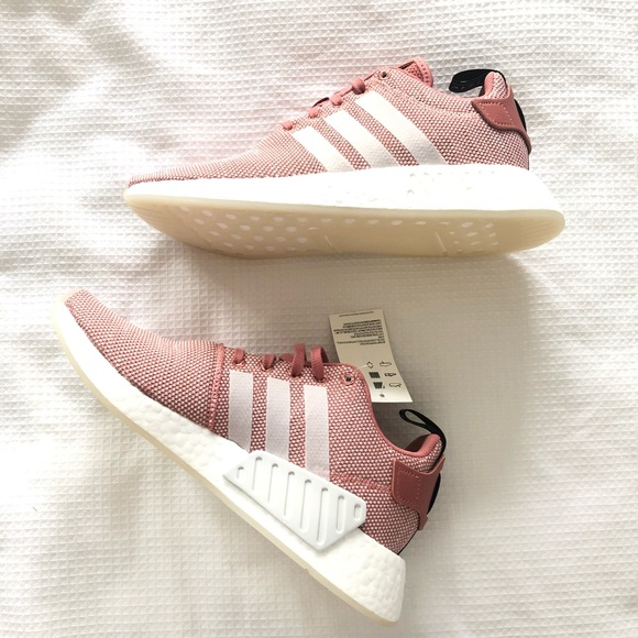 c5a24f75b NEW IN BOX Adidas RARE NMD R2 Ash Pink Rose Shoes